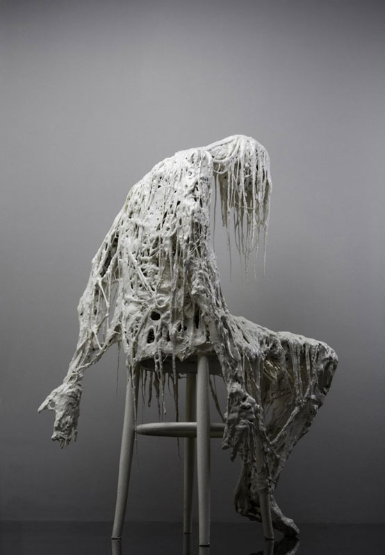 Sasha Vinci | L'Eterna Attesa / Mix media / h. 105 cm / 2005