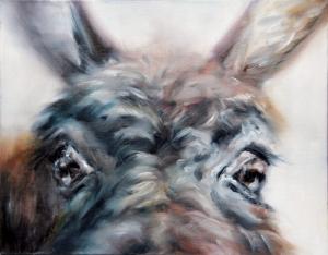 Tiziana Pers | I see you 3 / Olio su tela / 40x50 cm / 2014