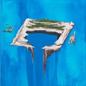 Camilla Alberti | Songline 9 / 2018 / Acrilico su tela / 100 x 100 cm