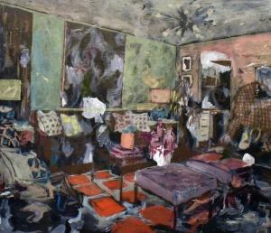 Gianluca Capozzi | Untitled / 2019 / Acrilico su lino / 60x80x4 cm
